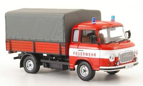 1974 Barkas Feuerwehr Bus