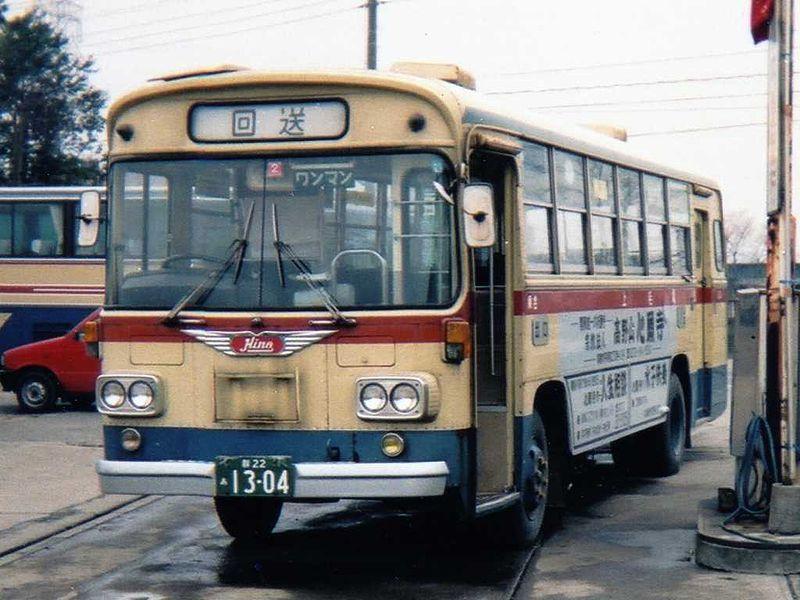 1974 Hino RL321 Jomo Dentetsu
