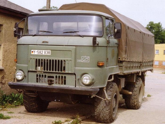 1974 IFA L60 4x4 versie