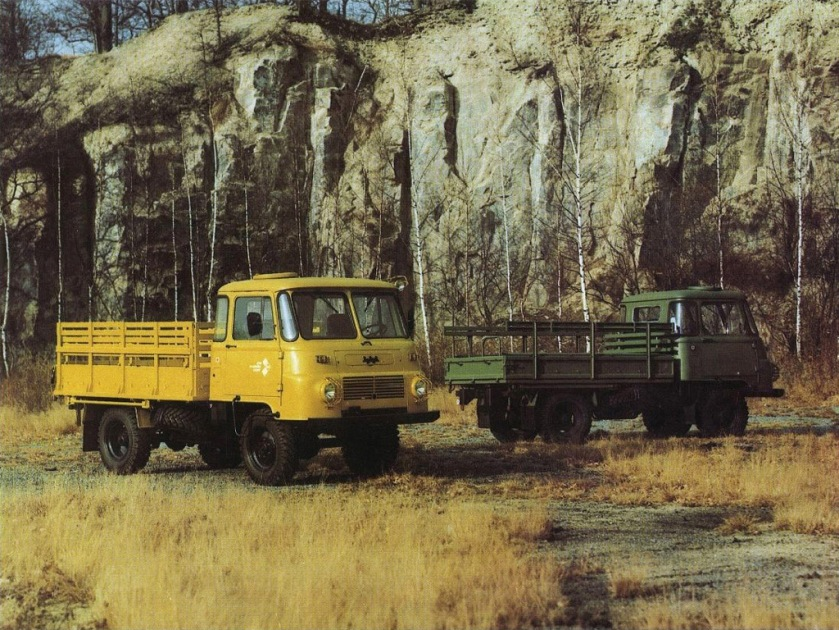 1974 Ifa Robur Safari