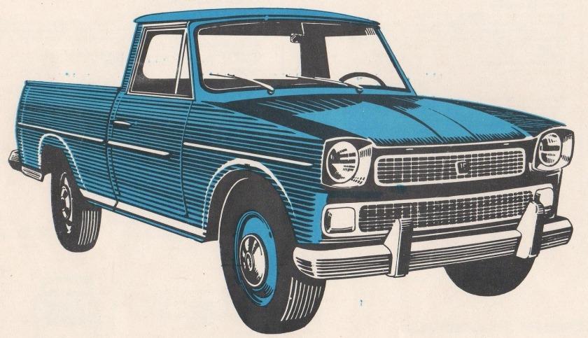 1974 Rastrojero Diesel P68 1974