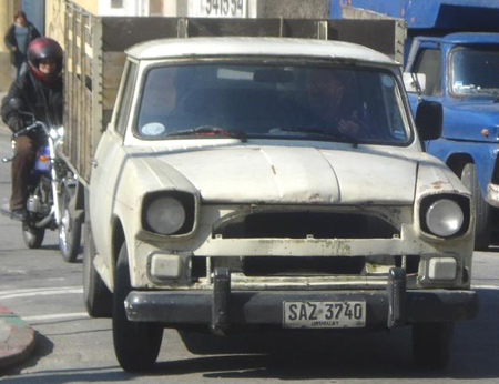1974 Rastrojero en Uruguay