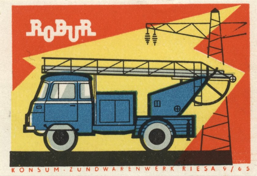 1974 Robur konsum-zundwarenwerk-riesa-robur