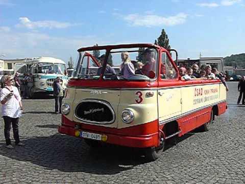 1974 Robur LO 2500 Karlštejnbus Králův