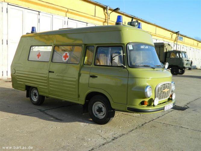 1975 Barkas B1000