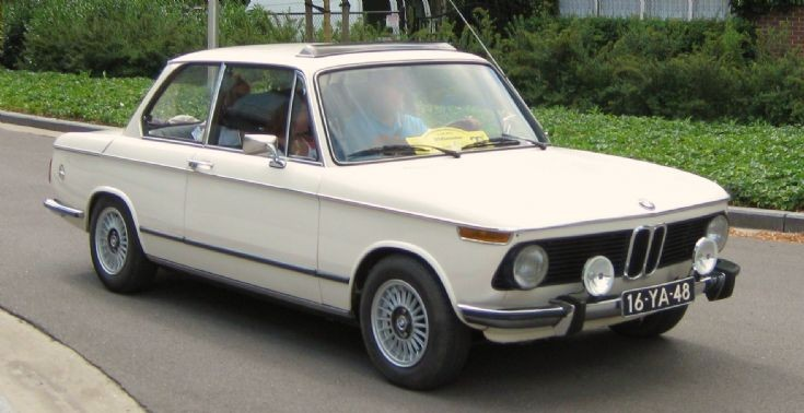 1975 BMW 2002 automatic, 4 cylinder