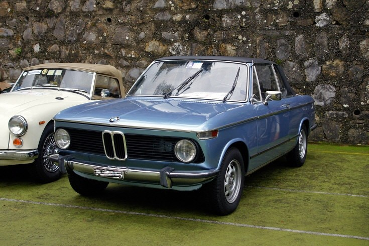 1975 BMW 2002 Cabrio Baur