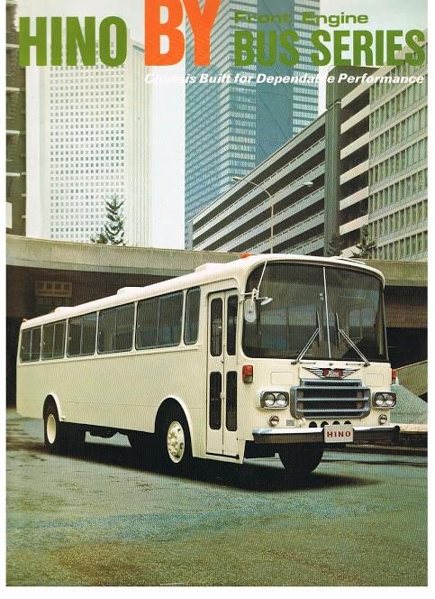1975 HINO BY-SERIES Cat nr 4065-E 1975-11-3 000