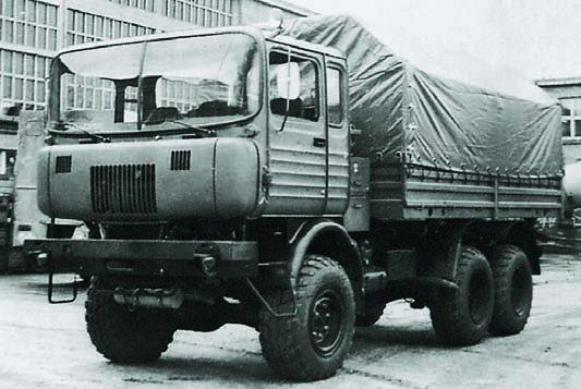 1975 IFA-Robur prototype truck, 6x6