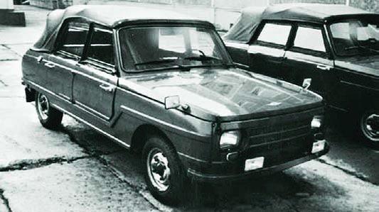 1975 Wartburg W353-400