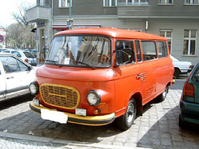 1976 Barkas Red Bus