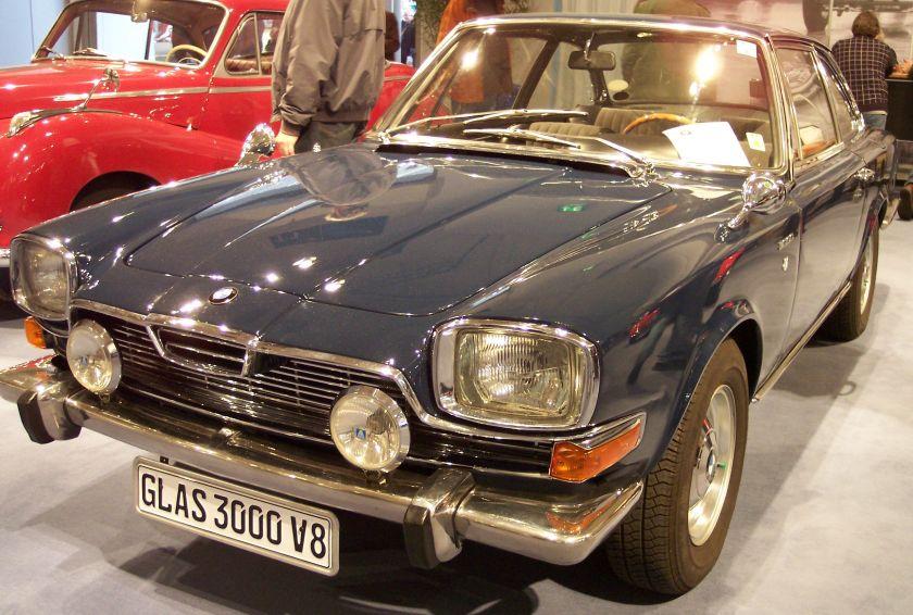 1976 BMW Glas 3000 blue vl TCE