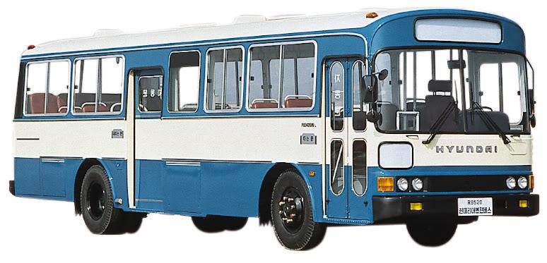 1976 Hyundai RB520