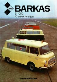 1976 IFA Framo to VEB Barkas Ambulances