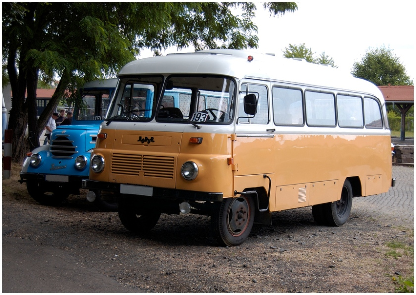 1976 robur bus