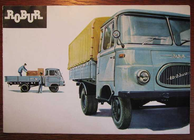 1976 Robur Lo 2500 Brochure