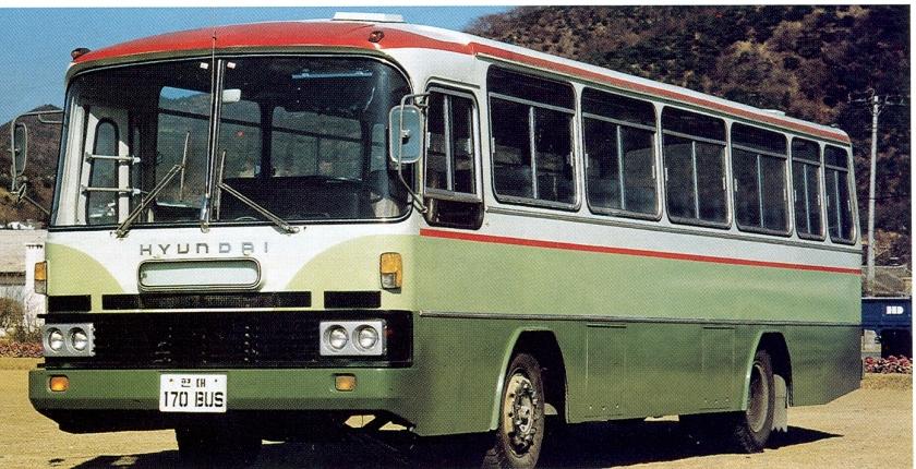 1977-82 Hyundai HD-170