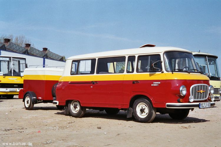 1977 Barkas mit Anhänger Treffen Werdau 2005