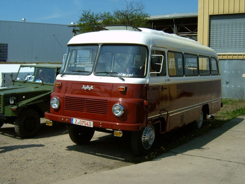 1978 Ifa Robur Ld 3000 Mehrzweckfahrzeug Picture