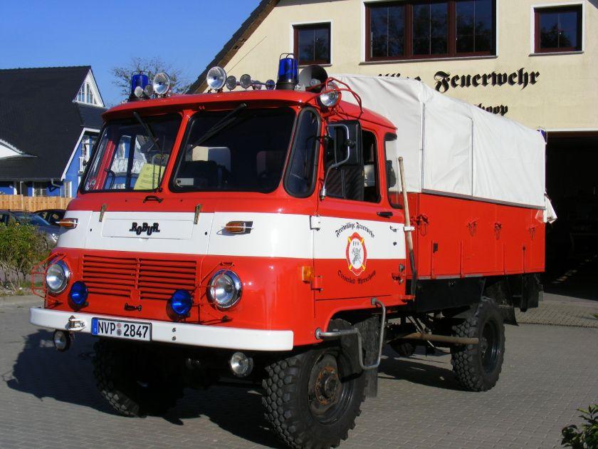 1978 Robur LKW, FFW Ahrenshoop