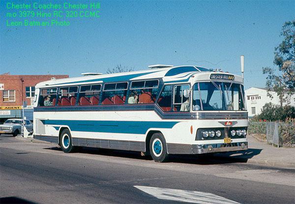 1979 Hino RC 320 CCMC Chester Coaches MO3979