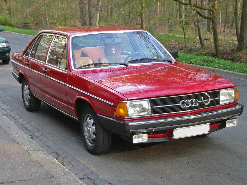 1980 Audi 100 c2 v