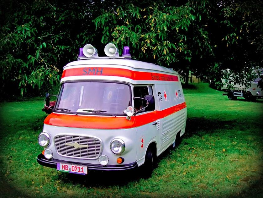 1980 Barkas B1000 SMH Krankenwagen