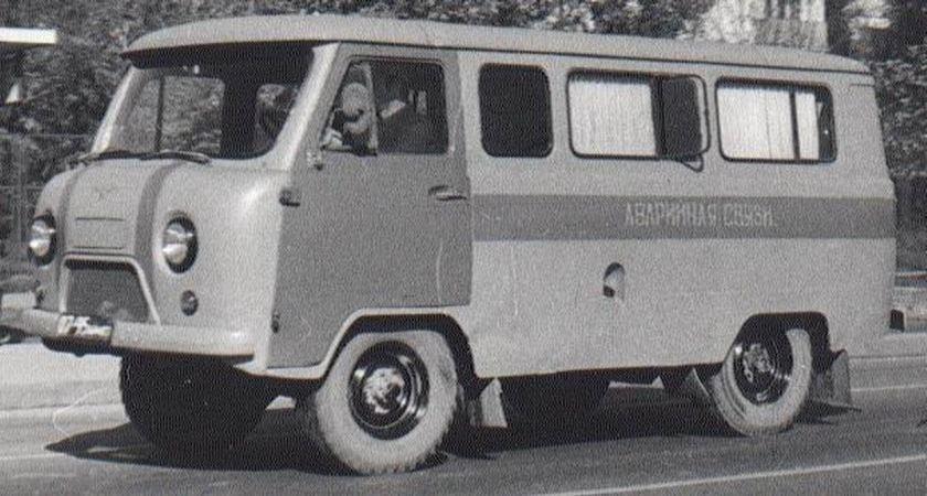1980 UAZ ambulance