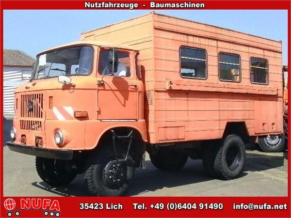 1981 IFA W 50 LA 4x4