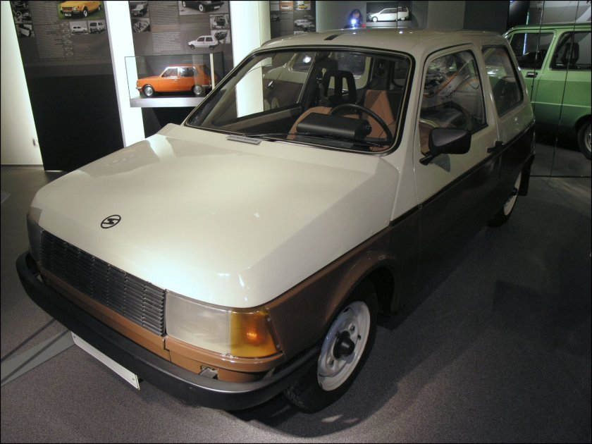 1981 Prototype Trabant P601Z.