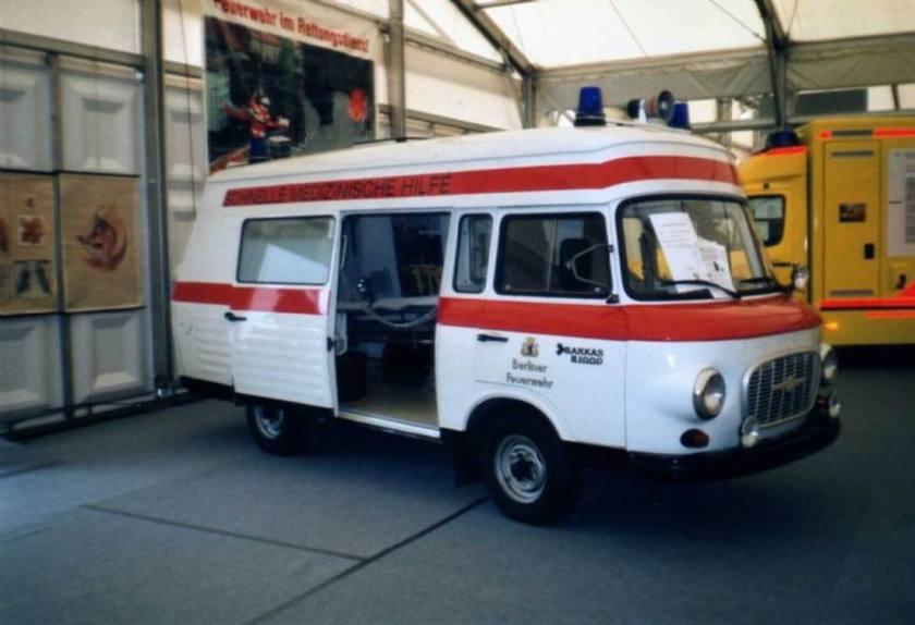 1982 Barkas 2 G