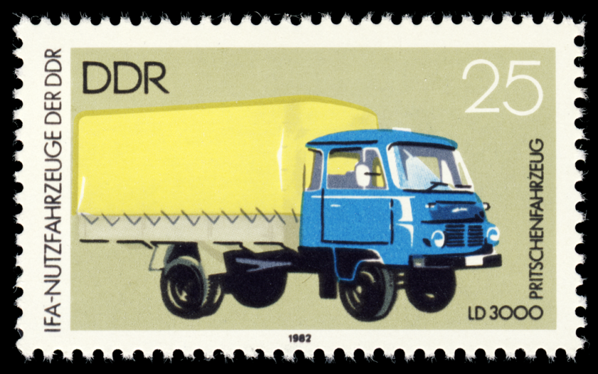 1982 MiNr 2747 Pritschenfahrzeug LD 3000