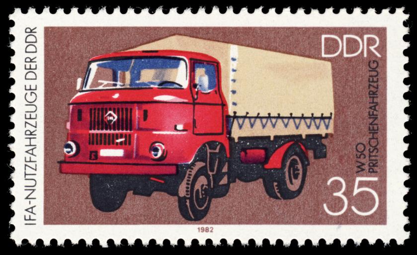 1982 MiNr 2748 Pritschenfahrzeug W 50