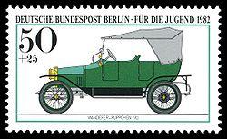 1982 Wanderer Werke Stamps Germany