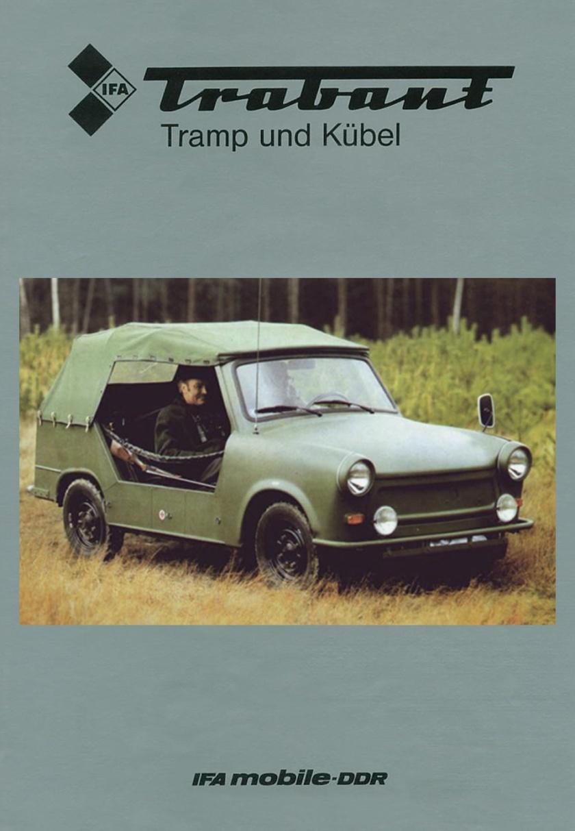1983 Trabant 601 Tramp und Kübel