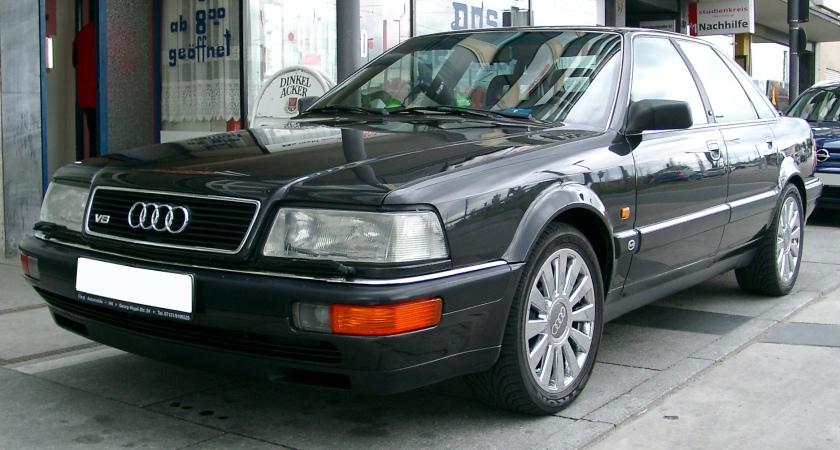 1984 Audi 200 front