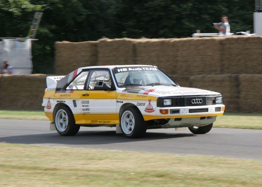 1985 Audi Quattro S1 Pikes Peak