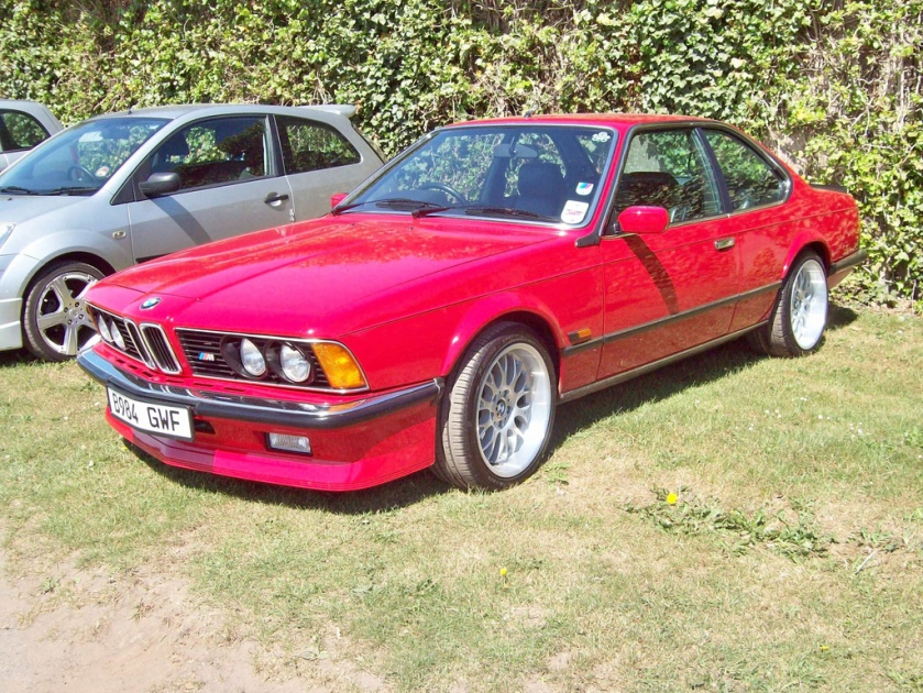 1985 BMW M635 CSi Engine 3453cc S6