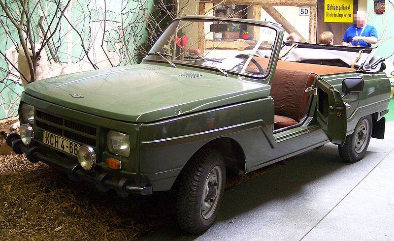 1985 Wartburg 353 Kübel