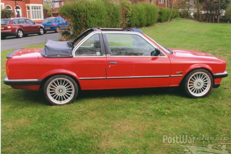 1986 BMW CABRIOLET BAUR