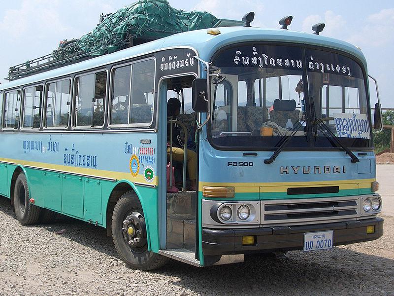 1986 Hyundai FB500 Laos