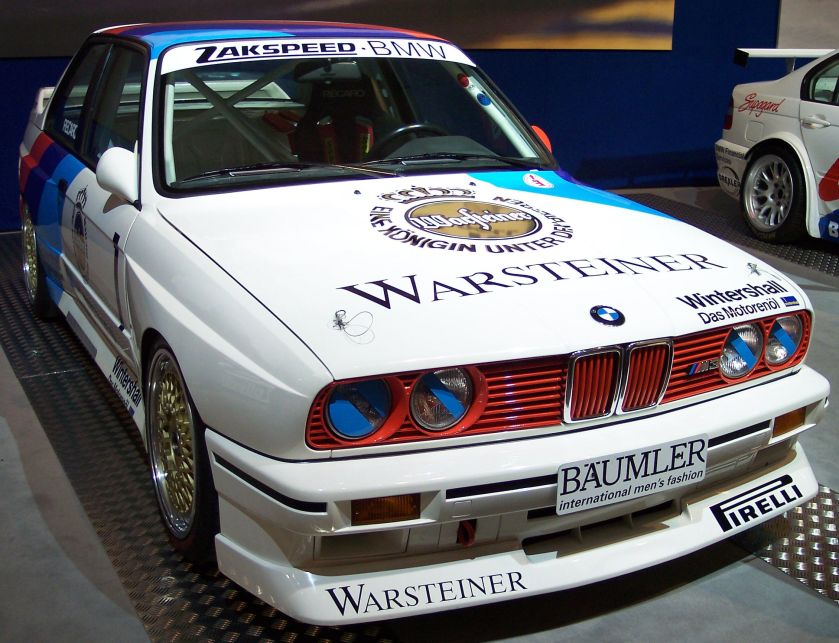 1987 BMW M3 Gruppe A DTM 2,3 vr TCE