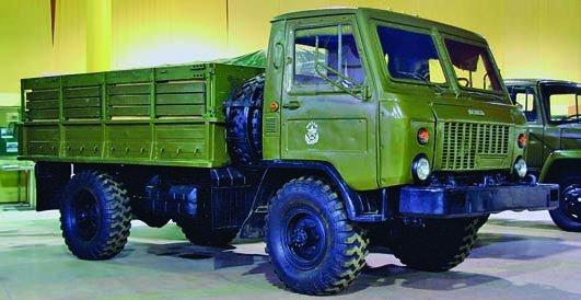 1987 GAZ-3301, 4x4