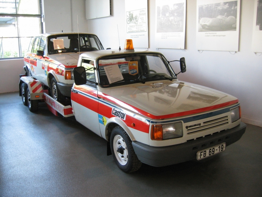1987 Wartburg 353 rally car and renntransporte