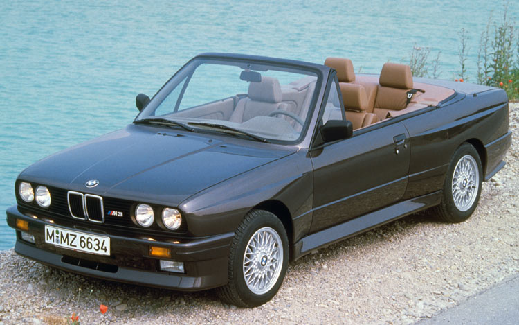 1988 Bmw m3 feature e30 m3 cabrio
