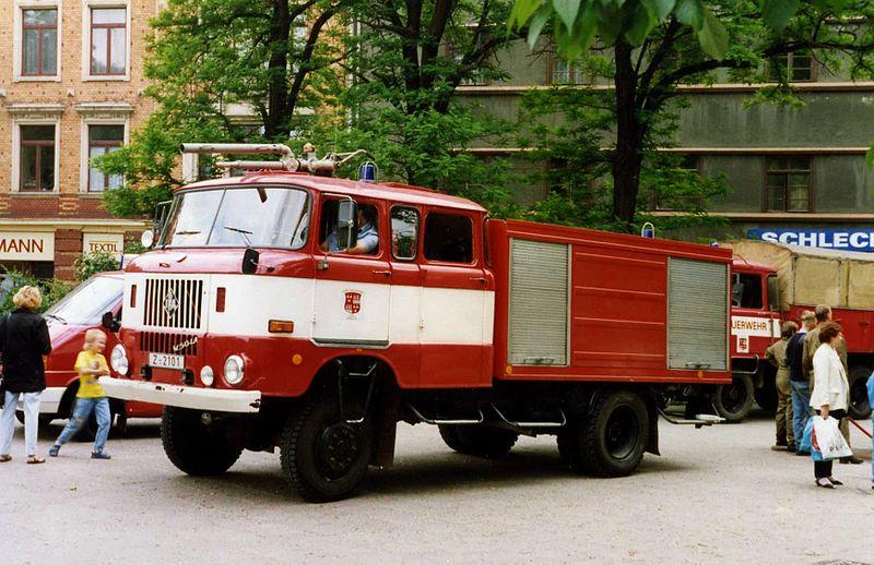 1988 IFA W50 TLF 16 GMK (mit Rollläden)