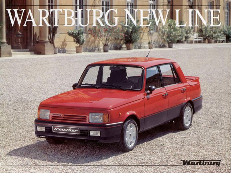 1988 Wartburg newline ad