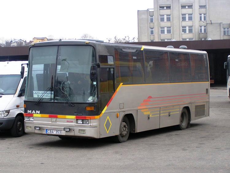 1990 Hispano Avutarda Midi MAN Litouwen