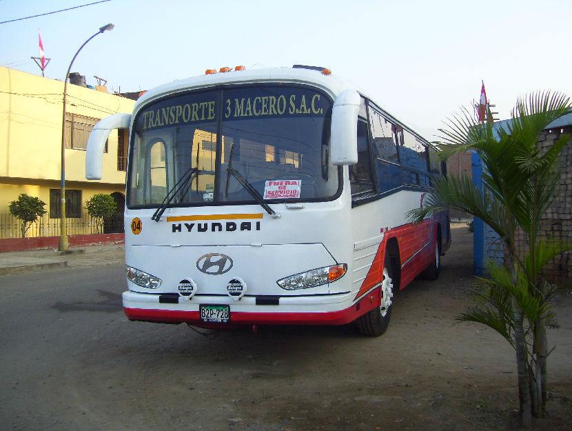 1990 HYUNDAI RB-520 - AÑO 1990