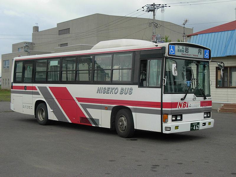 1998 Hino Niseko bus 462